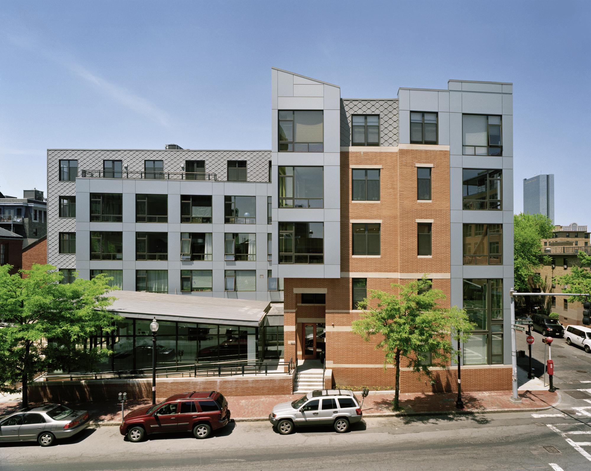 Art Block - East Building façade