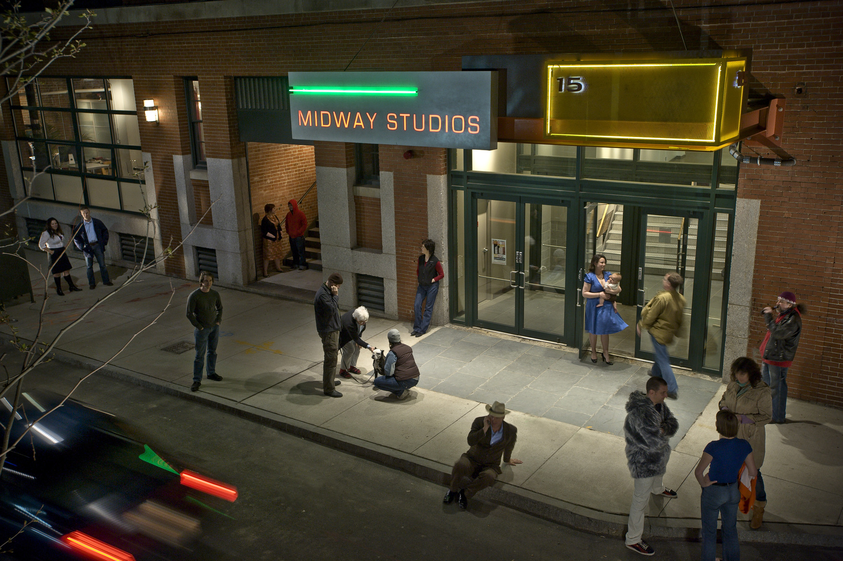 Midway Studios Front entry
