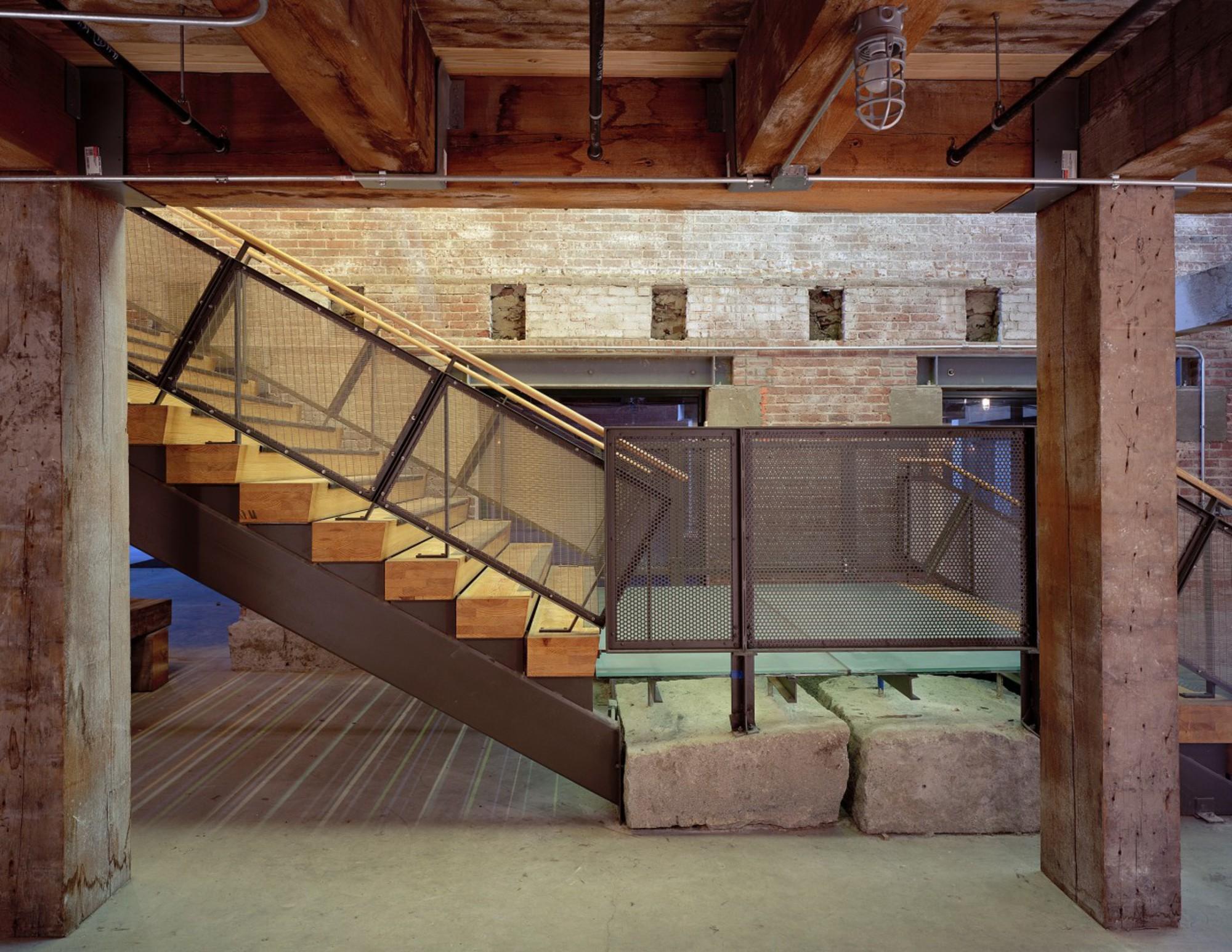 Midway Artist Studios - Stair detail