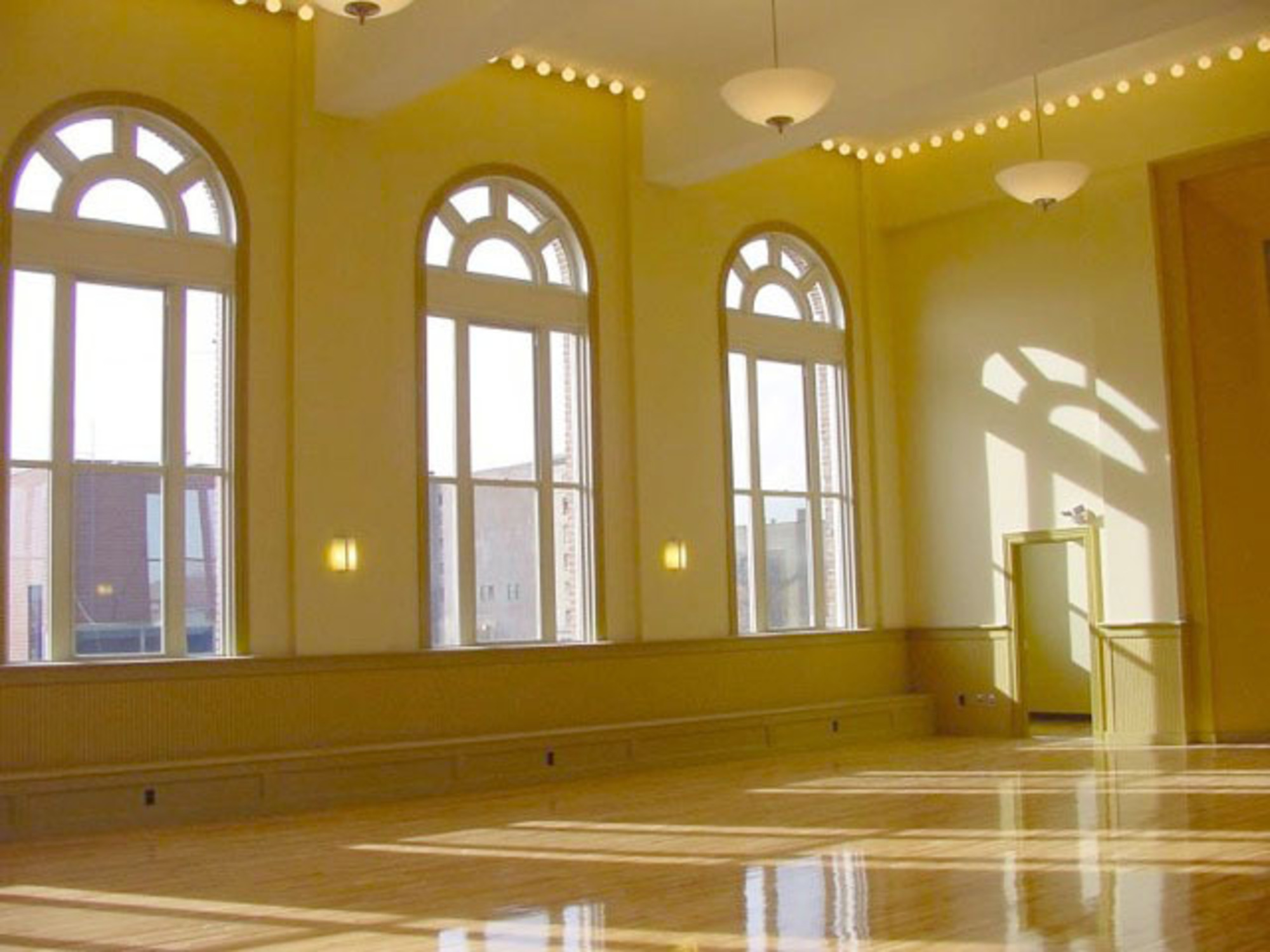 Hibernian Hall  - Renovated ballroom